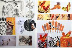 Merit middle Art Portfolio, Design Process, Nativity, Middle, Birds, Students, Painting, Inspiration, Biblical Inspiration