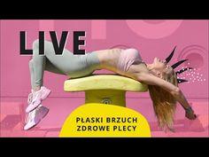 Płaski brzuch i Zdrowy kręgosłup   LIVE   Ola Żelazo - YouTube Live, Youtube, Movies, Movie Posters, Instagram, Films, Film Poster, Cinema, Movie