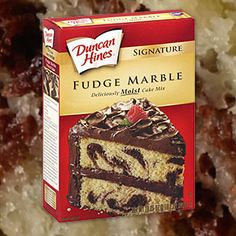 Marble fudge cake recipe