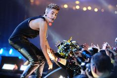 Justin Bieber Performs at Grey Cup