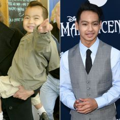 Maddox Jolie-PItt - 2005 + 2014 - The 12-year-old son of Angelina Jolie and Brad Pitt.