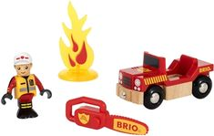 BRIO World 33876 Sett med Brannmann Brio Bahn, Baby Jogger, Minions, Lego, Barn, World, Toys, Character, Fire Department