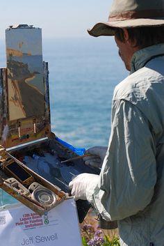 Plein Air Laguna Beach: Artist Jeff Sewell - 2011 - LagunaBeachBest.com