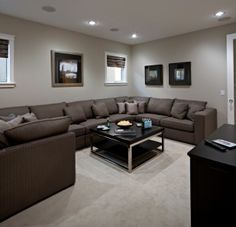Large family sectional