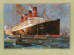 Aquitania, Cunard Line, GB