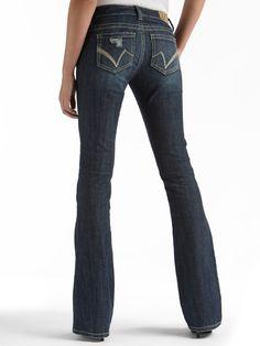 Sasha Flare 5 Pocket Jeans - Curvy Fit - Sasha - Jeans