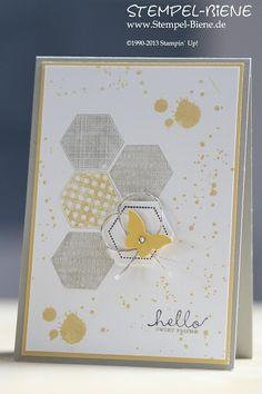 Stempel-Biene: Stampin' Up! Six-Sided Sampler und Gorgeous Grunge