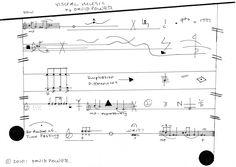 visual score by David Power