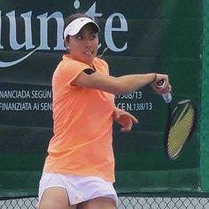 Ximena Hermoso jugando en semifinal del abierto Punto Verde SLP #amtp #riunite