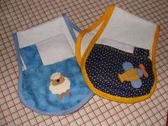 Protetores de ombro para após mamadeira de bebês