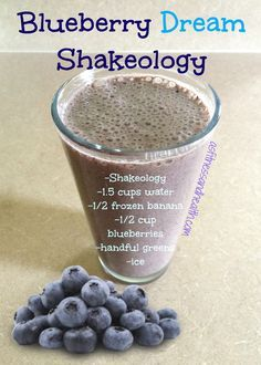 Try this very simple, yet very delicious Blueberry Dream Shakeology recipe! High in antioxidants! One of my all time favorites! Perfect with chocolate or vanilla Shakeology. Fit mom. Fit Pregnancy. Healthy toddler. You can check out this and more at http://www.thefitandfreemama.com/recipes.html