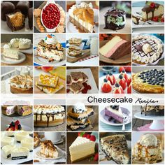 If you are a cheesecake fan then you NEED to checkout this great roundup of the most delicious Cheesecake Recipes! My mouth is just watering looking at all of these pictures.