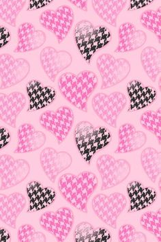 Cute Hearts Wallpaper.