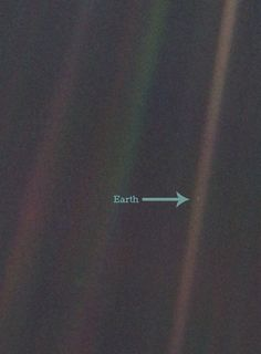 Pale Blue Dot. Image Credit NASA/Rebecca J.Rosen #Illustration #Earth