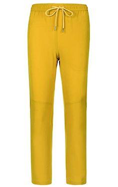 LANBAOSI Kids  Hiking Pants Girls Boys Waterproof Lightweight Outdoor  Trousers Yellow d80500afa