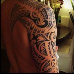 Maori tattoo design from Rarotonga