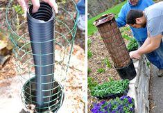 Sådan laver du supernemt et DIY blomstertårn | idényt