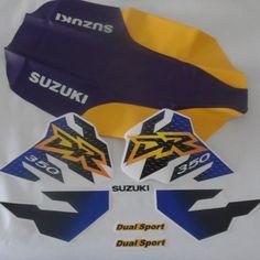 SUZUKI DR 350 SE DR350SE, KIT decals & Seat Cover  #mmcd