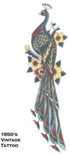 Tattoo Vintage Peacock (2 Pack) by WMU. $19.30. Temporary Tattoo. So realistic your friends will think its real.. Save 57% Off! Toys amp; Games | tattoos picture realistic temporary tattoos