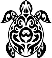 tribal sea turtle designs - Google Search