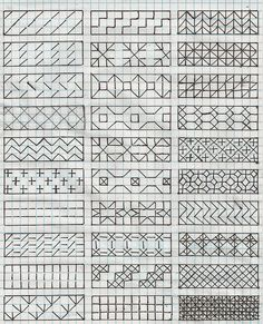 Downloadable Diaper Pattern Chart  free blackwork