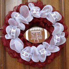 Love this Aggie Wreath!
