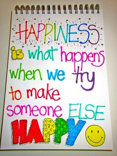 HAPPINESS #saying