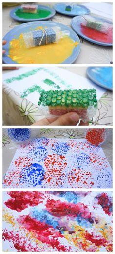 Slikanje može biti zabavno i inovativno ako upotrijebiti različite metode oslikavanja papira. Možda neobične, ali za djecu iznimno zabavne. Isprobajte.