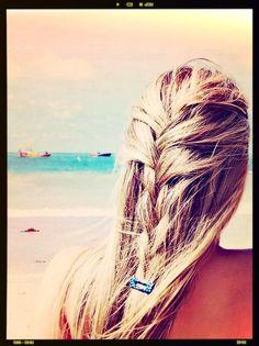 Beach Hair Style   KiteSista   THE ONLINE KITESURF AND LIFESTYLE MAGAZINE FOR GIRLS