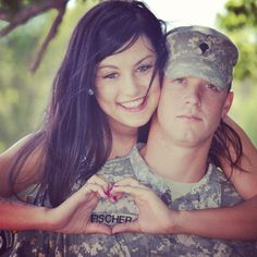 precious idea. My soldier will be home in 2 days and we have a photo session scheduled. :)