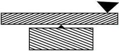 Image result for เส้นลวงตา สั้น-ยาว