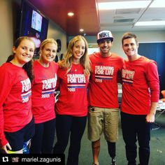 """#Regram @mariel.zagunis Really excited to be an Athlete Ambassador for a third year at the Special Olympics Youth Games of Oregon! Ready to get out there and PLAY with other amazing athletes @davidboudia1 @grizzisms @alwaystri @karl33_mill3r @nike @specialolympics """"IF YOU HAVE A BODY YOU ARE AN ATHLETE"""" #Oregon #athlete #SpecialOlympics #YouthGames #Olympians by fencing_fie"""