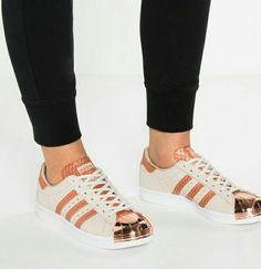 Adidas superstar 80s metal toe brown white