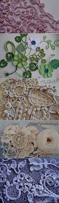 Разные виды вязания крючком   Записи в рубрике Разные виды вязания крючком   Дневник len-OK65 Love Crochet, Irish Crochet, Crochet Lace, Irish Lace, Butterfly, Birds, Embroidery, Amazing, Outdoor Decor