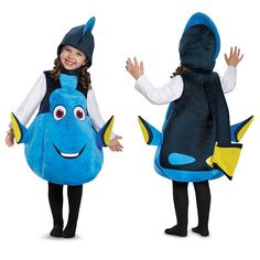 Amazon.com: Disguise Dory Toddler Deluxe Finding Dory Disney/Pixar Costume, One Size Child, One Color: Toys & Games