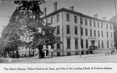 History of Madison Indiana Antique Photos, Old Photos, Madison Indiana, Leading Hotels, Great Places, Places To Visit, Childhood, Street View, History