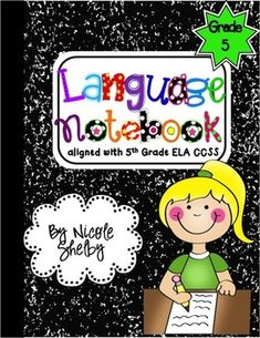 5th Grade Language Interactive Notebook.
