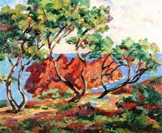 Away, Point de L'ille Besse - Armand Guillaumin (1841-1927)