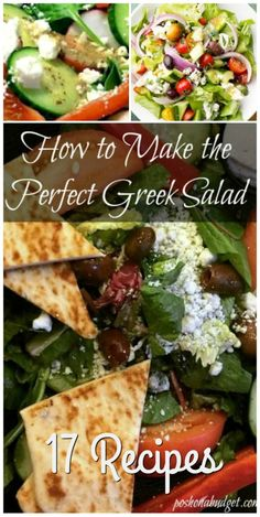 How to Make the Perfect Greek Salad  17 Recipes