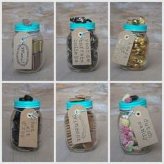 Afbeeldingsresultaat voor afscheidscadeau collega vrouw Gifts For Colleagues, Farewell Gifts, Gifts For Boss, Diy Presents, Birthday Treats, Jar Gifts, Bottles And Jars, Candy Shop, Surprise Gifts
