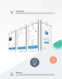 Bluethumb Ecommerce App on App Design Served