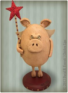 When Pigs Fly. $125.00, via Etsy.