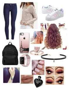 """""""Untitled #199"""" by emma-8bradley ❤ liked on Polyvore featuring Levi's, adidas Originals, Hogan, Casetify, Carbon & Hyde and Lipsy"""