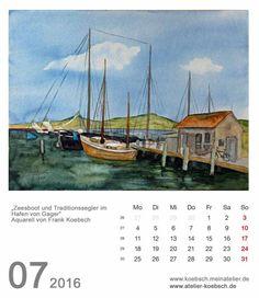 Kalender 2016 | Kalenderblatt Juli 2016