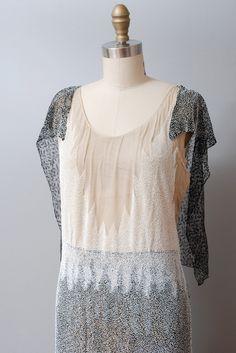 1920s Dress Beaded 20s Gown Gatsby Era Vintage Flapper Dress Silk Beaded   eBay