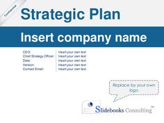 Simple Strategic Plan Template | By ex-McKinsey Consultants