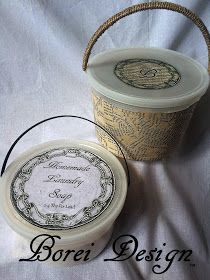 Upcycling Plastic Ice Cream Buckets Into Cute Storage Containers