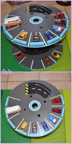 DIY Projects For Kids Inspired By Race Car Tracks Car