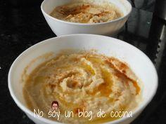 No soy un blog de cocina: HUMMUS CON SALSA TAHÍNI