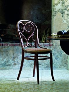 Old Thonet bentwood chairs